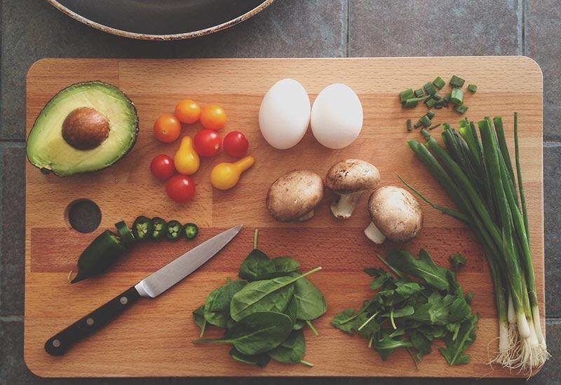 Ingredientes para preparar cena san valentín