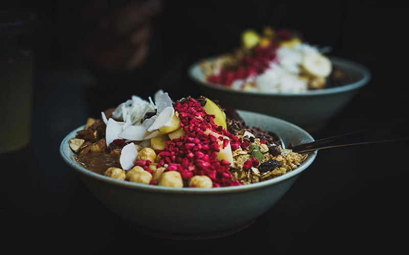 bowl de avena