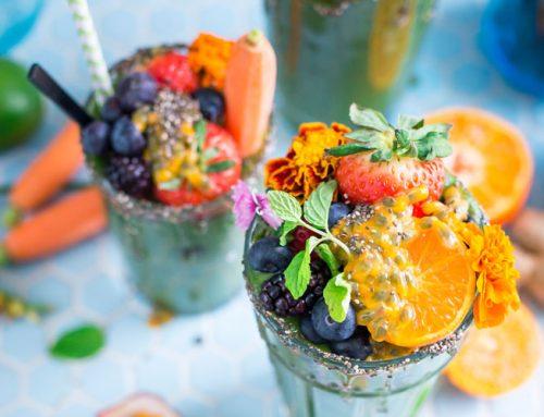 5 recetas de smoothies para tener una salud de hierro