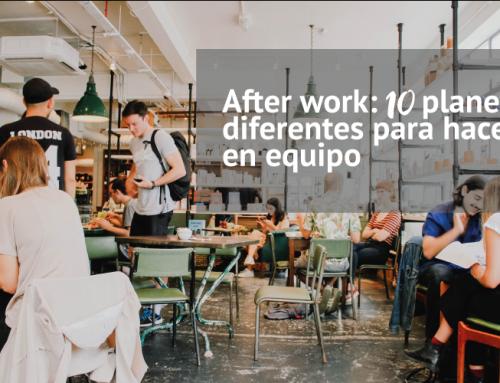 After work: 10 planes diferentes para hacer en equipo