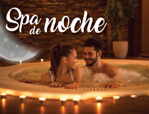 Spa de noche, relax bajo las estrellas