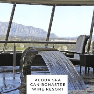 ACBUA Spa de Can Bonastre Wine Resort