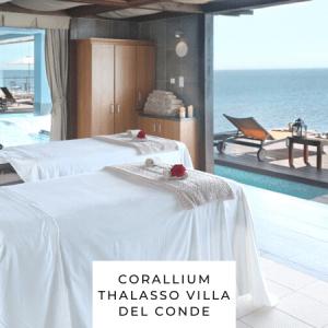 Corallium Thalasso Villa del Conde spa privado para parejas
