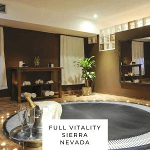 Full Vitality Spa Sierra Nevada spa privado