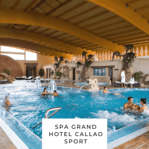 Spa Grand Hotel Callao Sport spa parejas